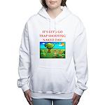 trap shooting Women's Hooded Sweatshirt