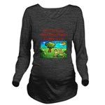 trap shooting Long Sleeve Maternity T-Shirt