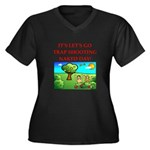 trap shooting Plus Size T-Shirt