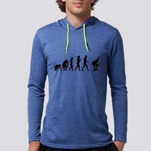 Evolution Speed Skating Mens Hooded Shirt