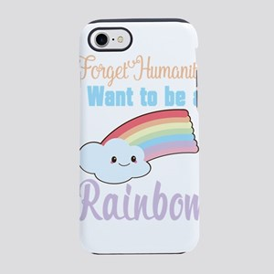 Forget Humanity I Want To Be iPhone 8/7 Tough Case