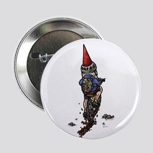 Dirty Little Mountain Biker Gnome Button