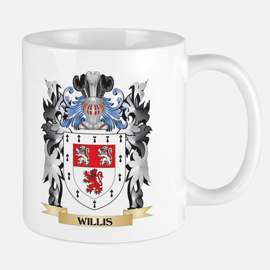 Willis Coat of Arms - Family Crest Mugs