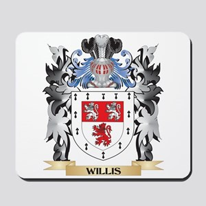 Willis Coat of Arms - Family Crest Mousepad