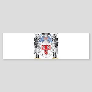 Willis Coat of Arms - Family Crest Bumper Sticker