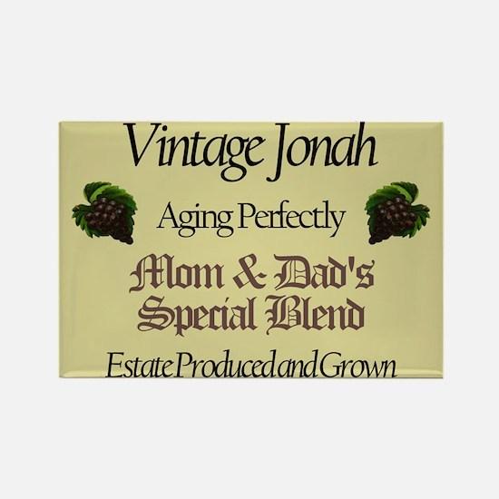 Vintage Jonah Rectangle Magnet (10 pack)