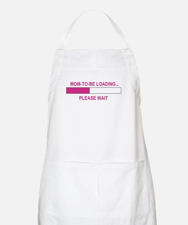 MOM-TO-BE LOADING BBQ Apron