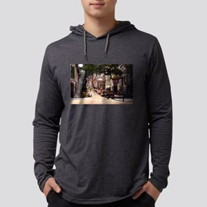 Hong Kong Flower Street Long Sleeve T-Shirt