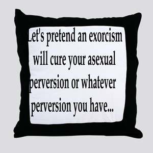 Curing Perversions #2 Throw Pillow