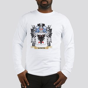 Worth Coat of Arms - Family Cr Long Sleeve T-Shirt