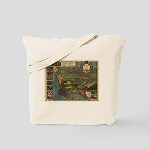 LA, 1871 By Gores. Tote Bag