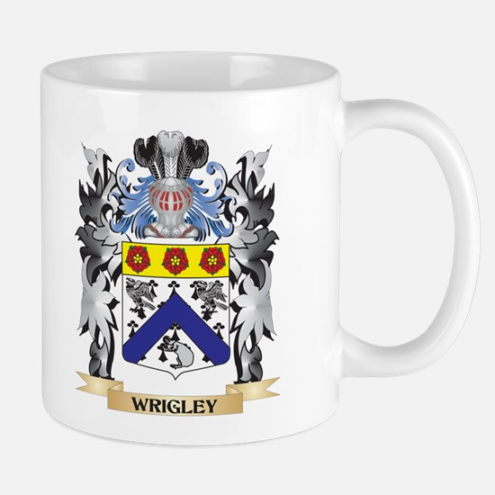 Wrigley Coat of Arms - Family Crest Mugs