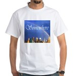 9-11 Rainbow White T-Shirt