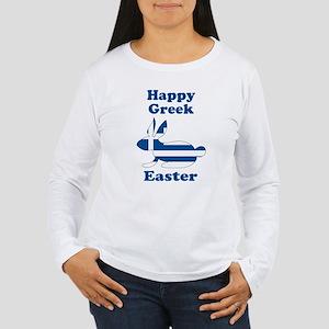 Greek Easter Women's Long Sleeve T-Shirt