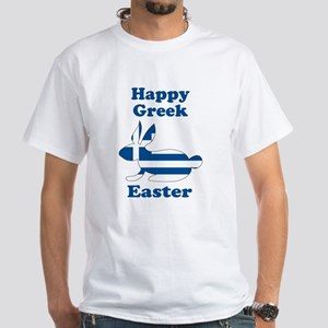 Greek Easter White T-Shirt