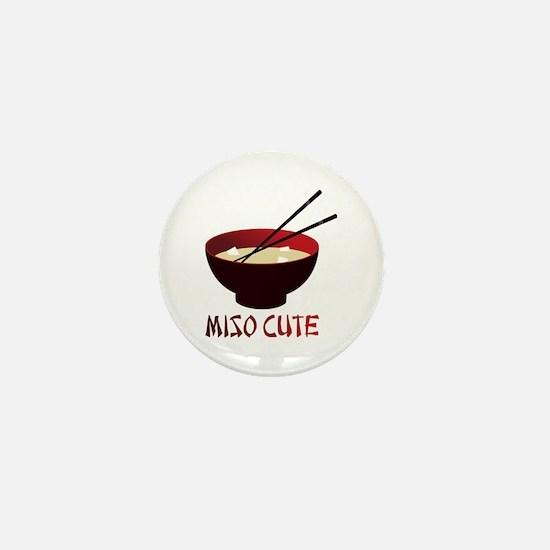 Miso Cute Mini Button