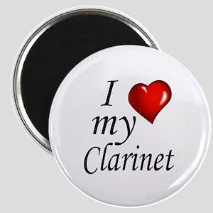 I Love my clarinet Magnet