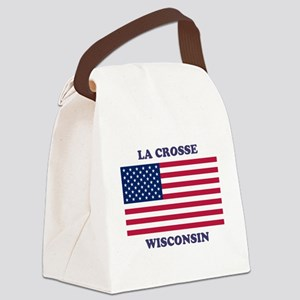 La Crosse Wisconsin Canvas Lunch Bag