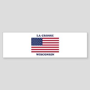 La Crosse Wisconsin Sticker (Bumper)