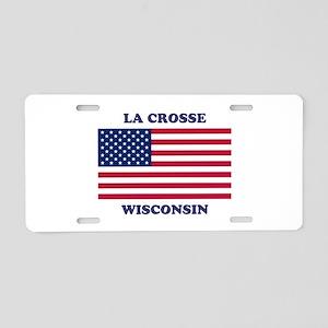 La Crosse Wisconsin Aluminum License Plate