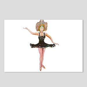 Dancer in the Black Tutu Postcards (Package of 8)