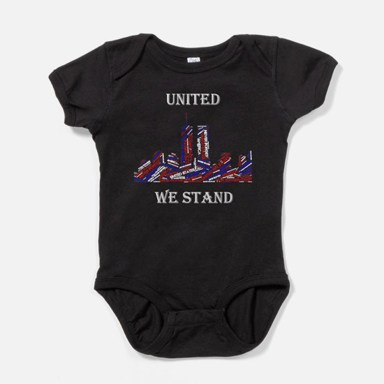 Unique United we stand Baby Bodysuit