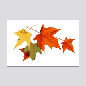 Autumn Colors Mini Poster Print