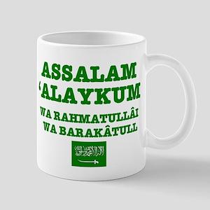 ARAB GREETING - ASSALAM ALAYKUM Mugs