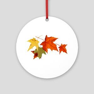 Autumn Colors Ornament (Round)