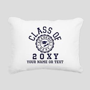 Class of 20?? Rectangular Canvas Pillow