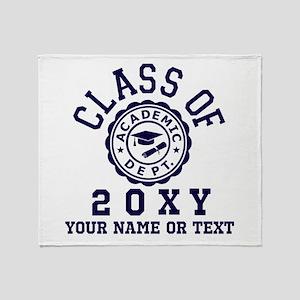 Class of 20?? Throw Blanket