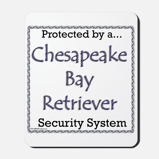 Chessie Security Mousepad