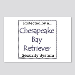 Chessie Security Postcards (Package of 8)
