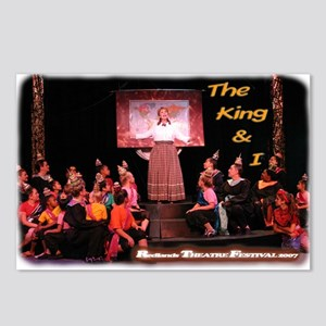King and I Postcards (Package of 8)