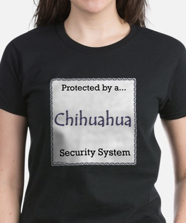 Chihuahua Security Women's Dark T-Shirt
