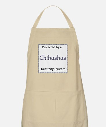 Chihuahua Security BBQ Apron