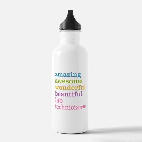 Amazing Lab Technician Water Bottle