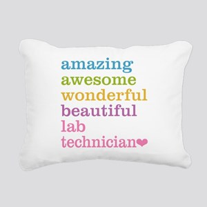 Amazing Lab Technician Rectangular Canvas Pillow