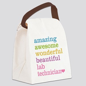 Amazing Lab Technician Canvas Lunch Bag