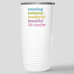 Amazing Life Coach Stainless Steel Travel Mug