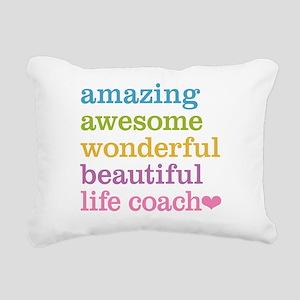 Amazing Life Coach Rectangular Canvas Pillow