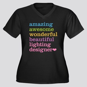Amazing Lighting Designer Plus Size T-Shirt
