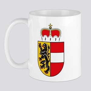 Salzburg Coat of Arms Mug