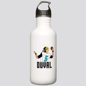 Duval QB #3 Water Bottle