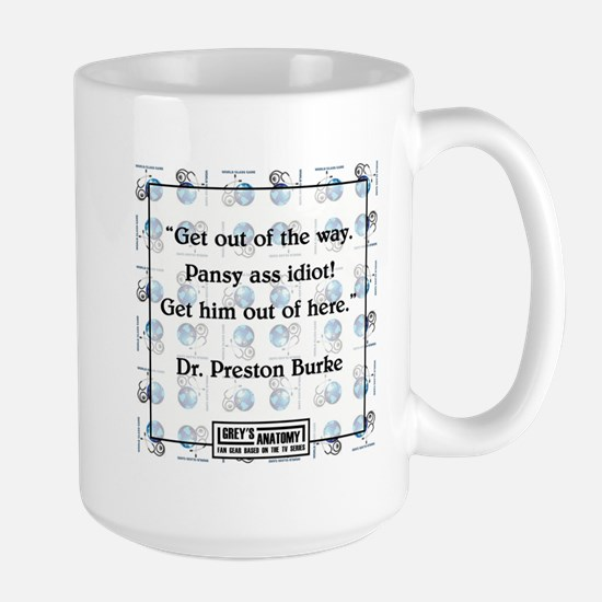 PANSY ASS IDIOT Large Mug