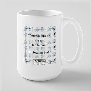 TERRORIZE ONE... Large Mug