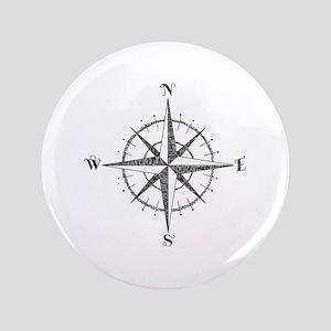 Compass Rose Button