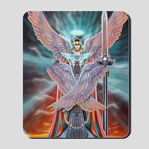 Angel Warrior Mousepad