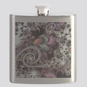Sufi Whirl Fractal Flask