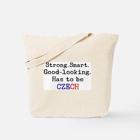be czech Tote Bag